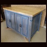 Alder & Maple Kitchen Island