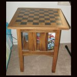 Chess Board Side Table
